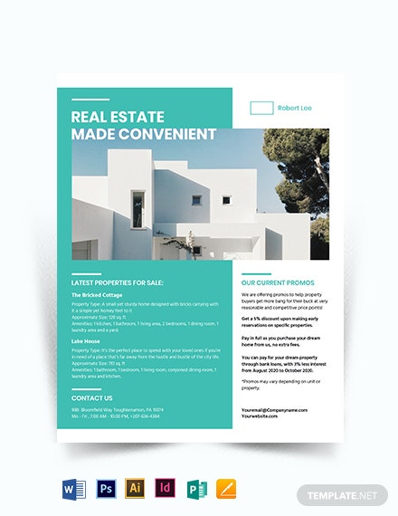 Property Broker Flyer Template