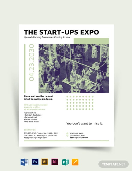 Small Business Expo Flyer Template