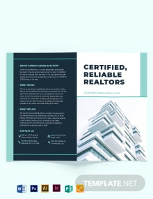 Apartment/Condo Inspector Bi-Fold Brochure Template