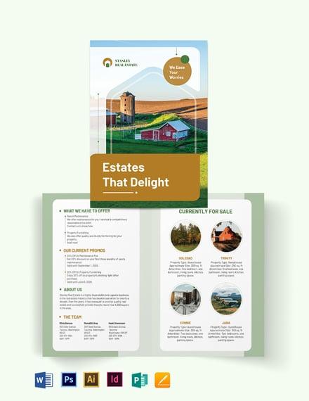 ranch bi fold brochure