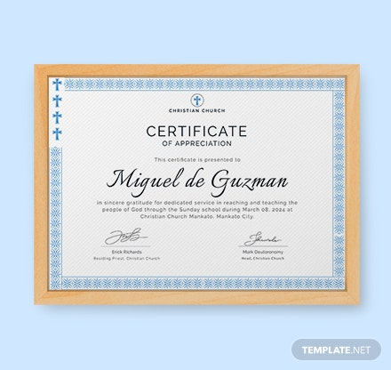pastor appreciation certificate template free - free appreciation certificate template download 200