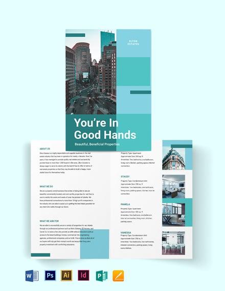 Rental Bi-fold Brochure Template