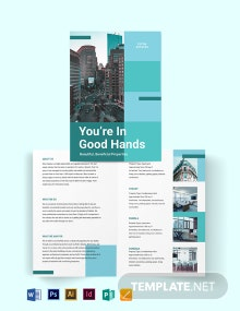 Rental Bi-fold Brochure Template