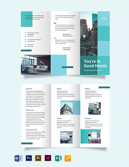 Rental BiFold  Trifold Brochure