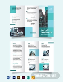 Rental Tri-Fold Brochure Template