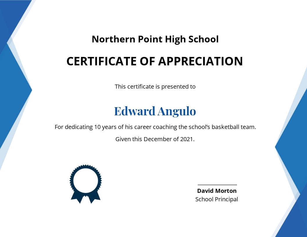 Coaching Appreciation Certificate Template.jpe