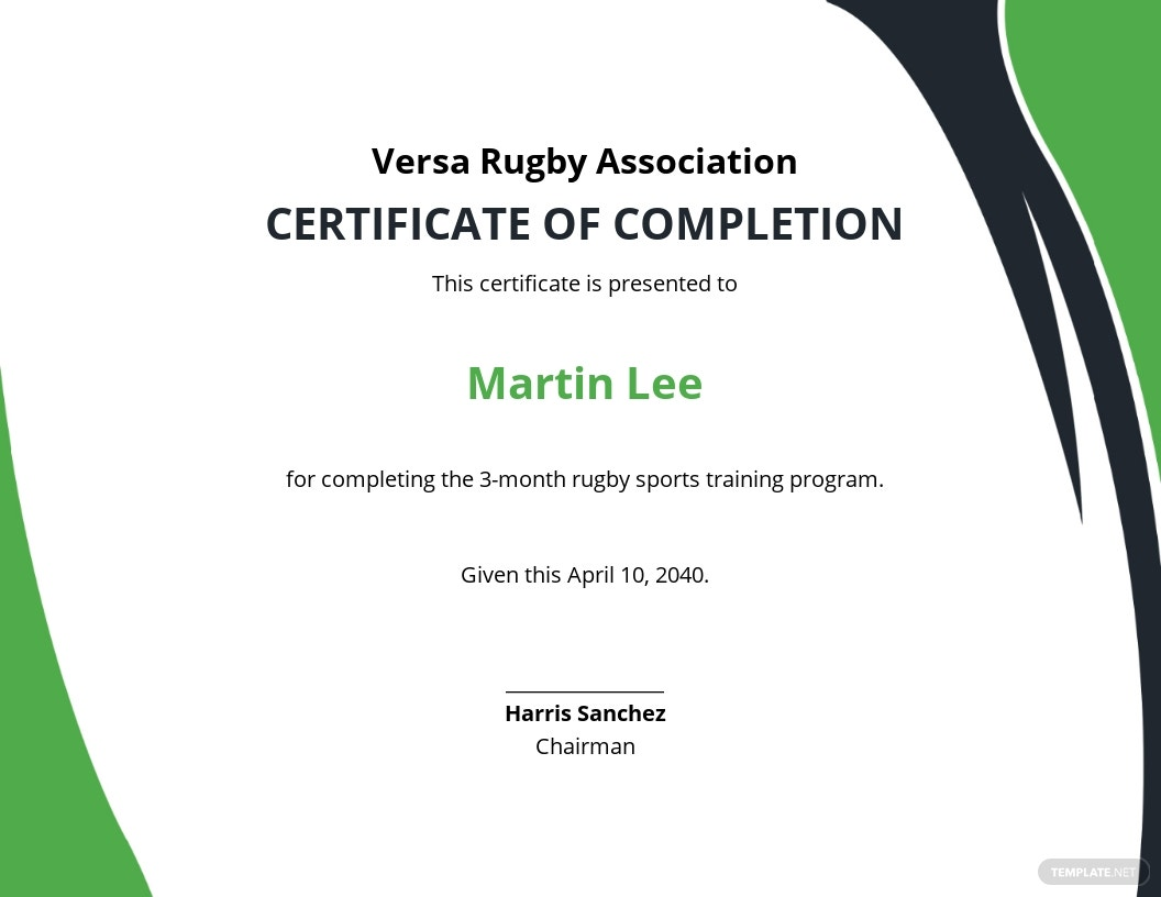 Certificate of Rugby Completion Template.jpe