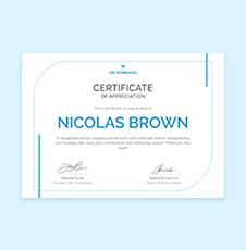 Free Employee Appreciation Certificate Template