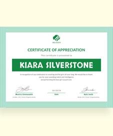 Free Girl Scout Appreciation Certificate Template