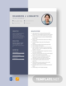 Delivery Coordinator Resume Template