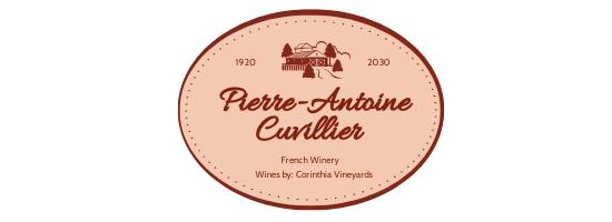 Vintage Wine Label Template