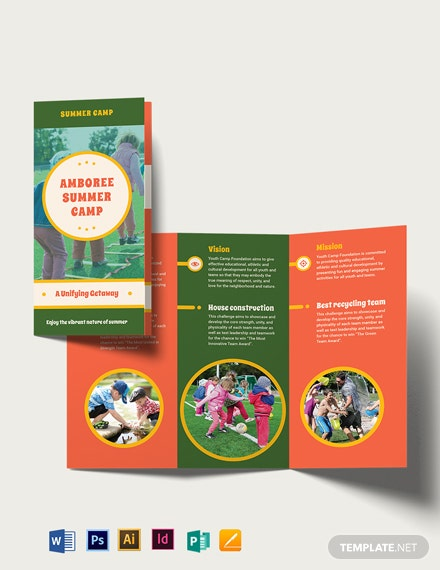Summer Camp TriFold Brochure