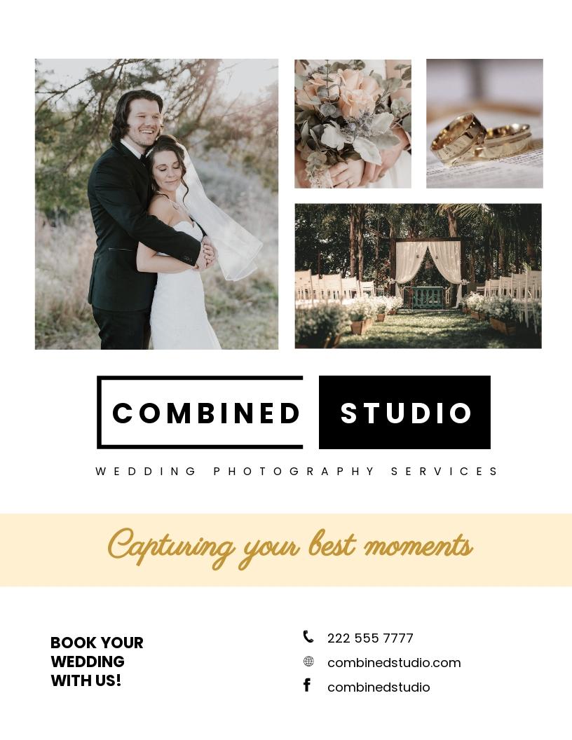 Wedding Photographer Flyer Template.jpe