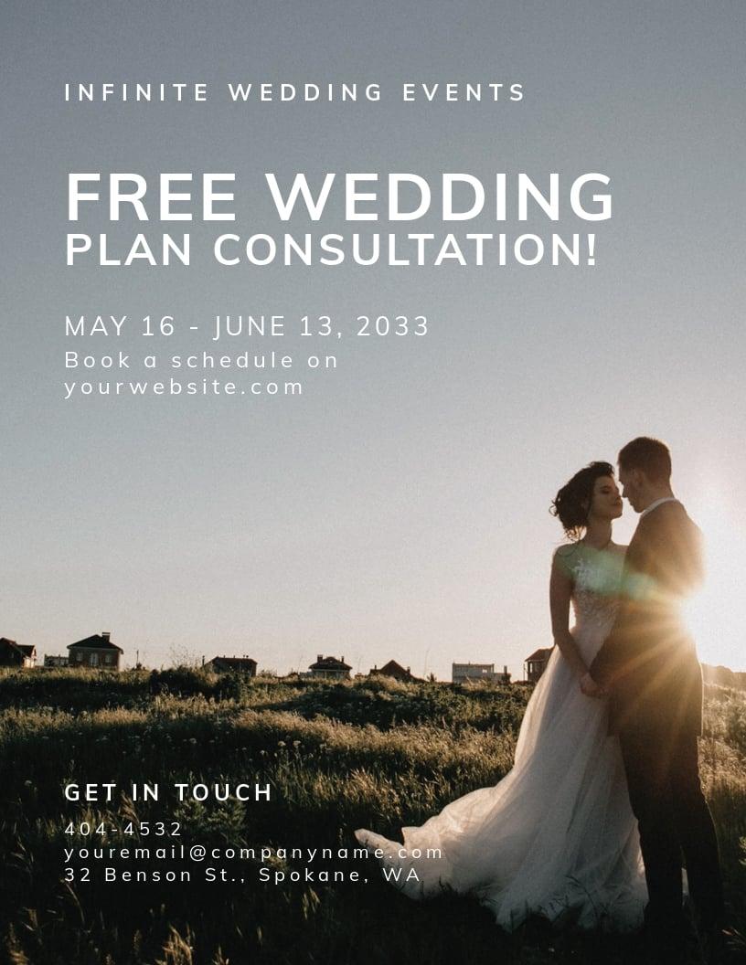 Wedding Flyer Template.jpe