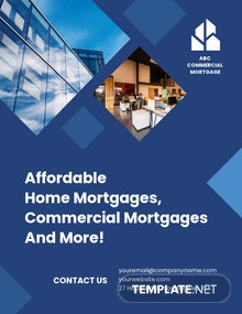 Commercial Mortgage Broker Flyer Template