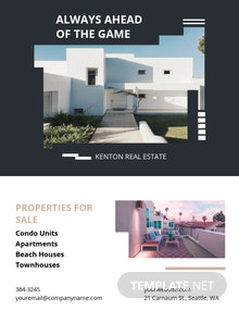 House/Home Community Flyer Template