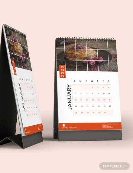 Editable Business Desk Calendar Download