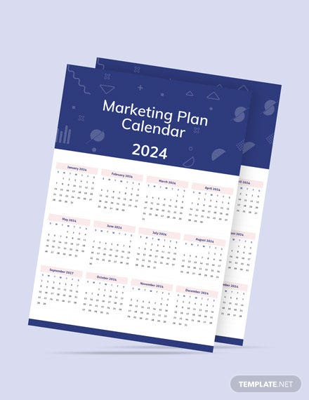Marketing Plan Desk Calendar Download