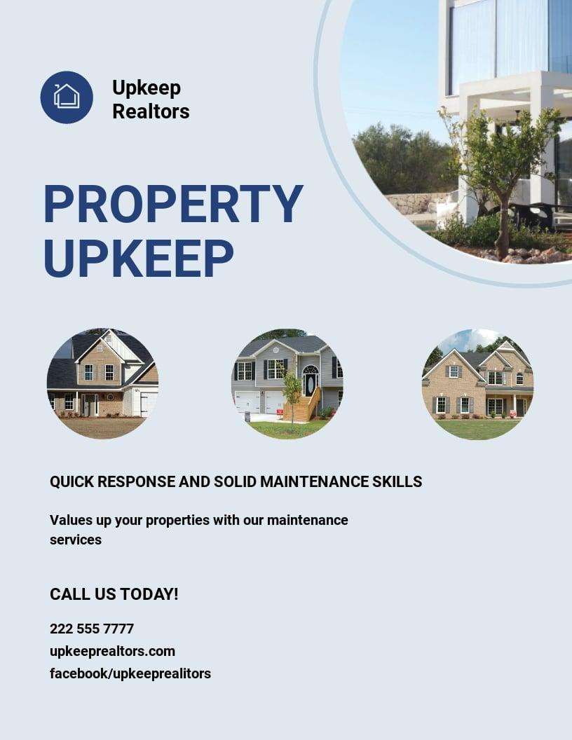 Property Maintenance Flyer Template.jpe