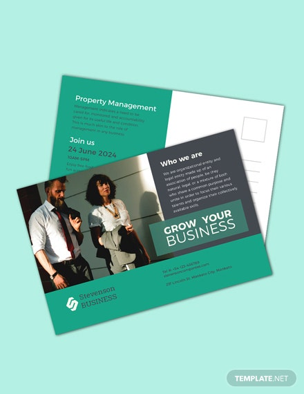 Free Multi Purpose Business Postcard Template