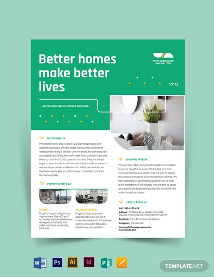Real Estate Partners Flyer Template
