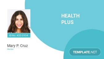 Healthcare ID Card Format Template