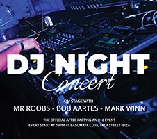 Free DJ Night Concert Flyer Template