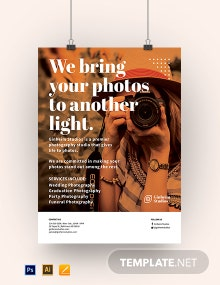 Photography Business Poster Template