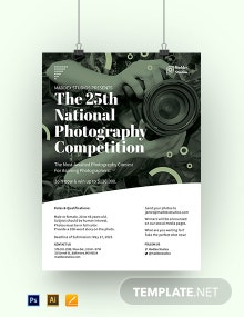 Photography Competition Poster Template