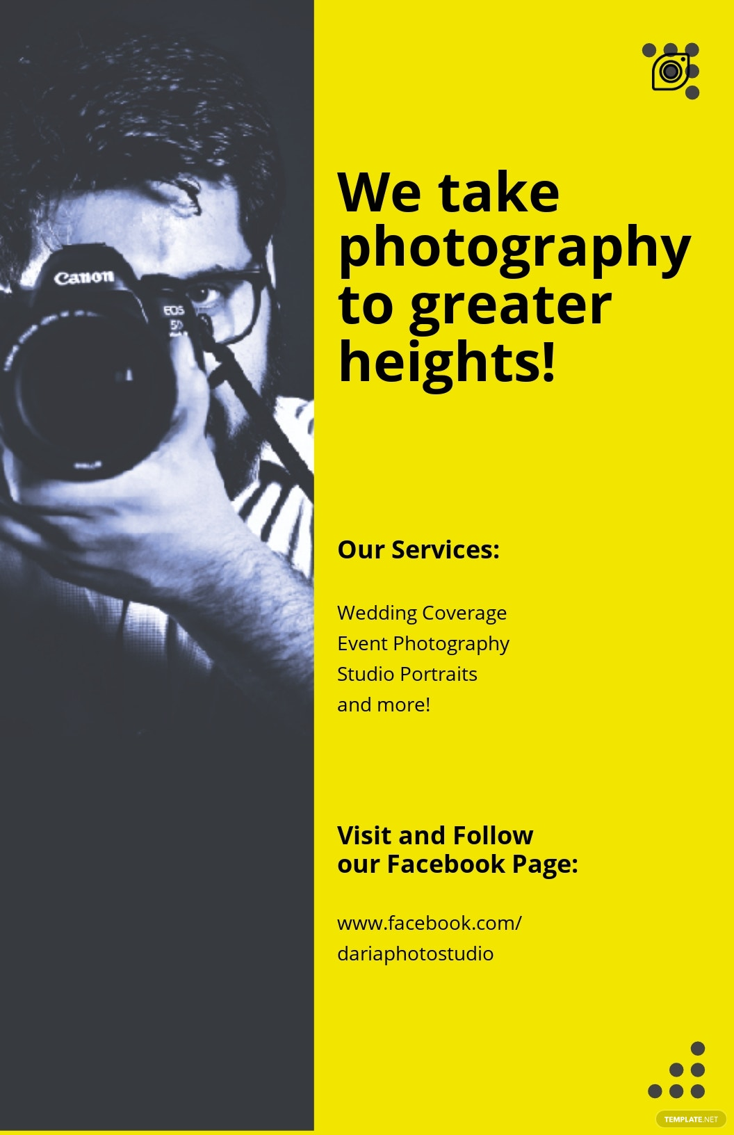 Professional Photography Poster Template.jpe