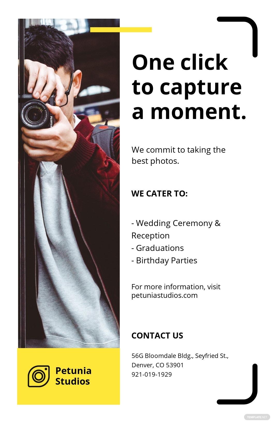 Simple Photography Poster Template.jpe