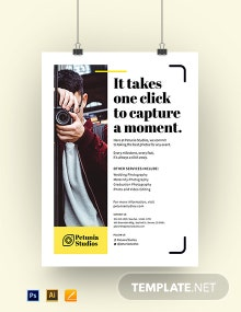 Simple Photography Poster Template