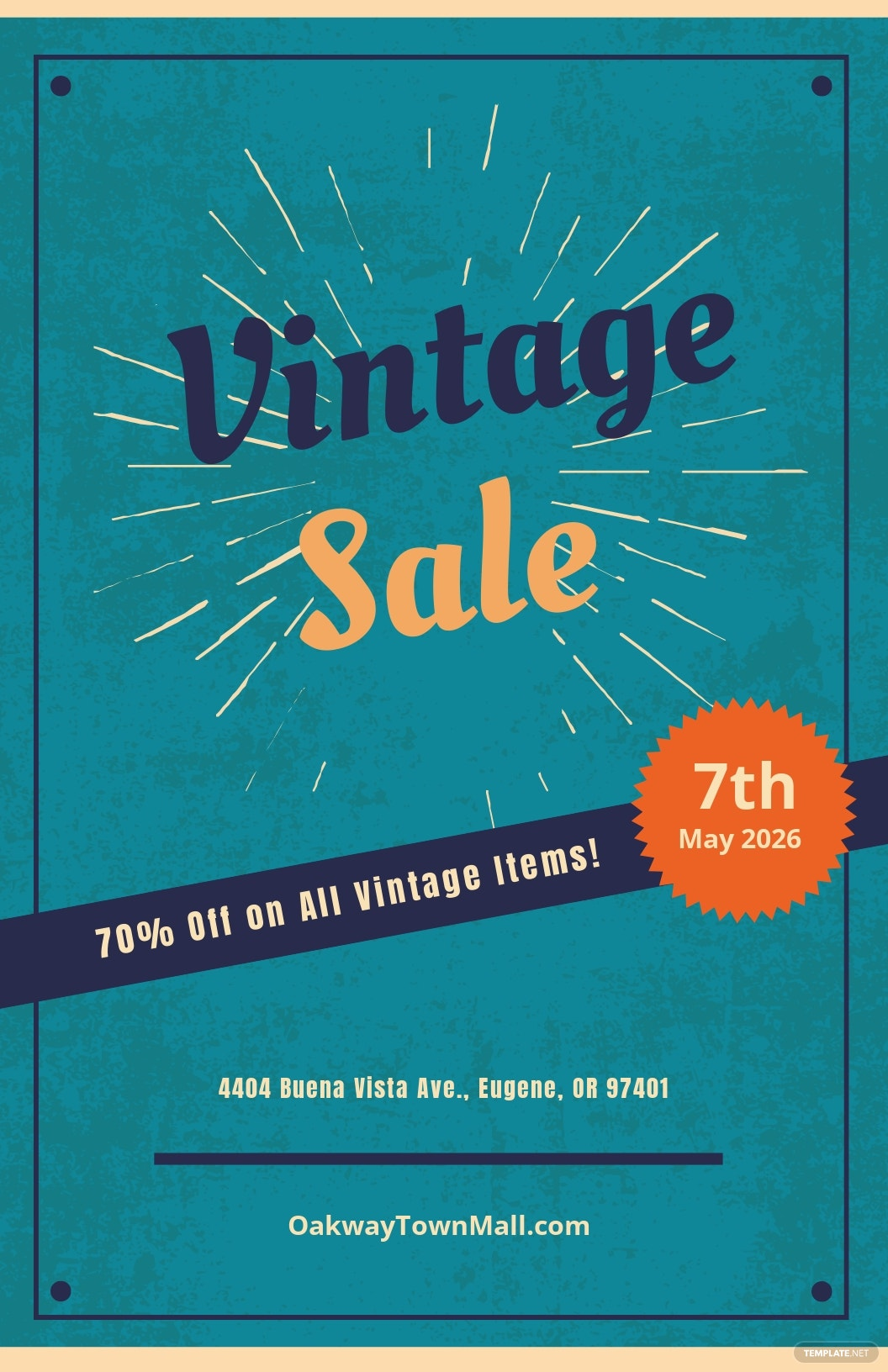Vintage Sale Poster Template.jpe