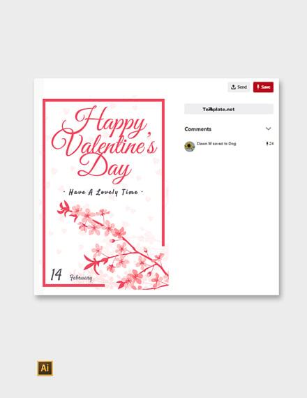 Valentines Day Pinterest Post