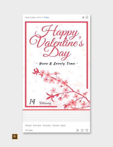 Free Valentine's Day Tumblr Post