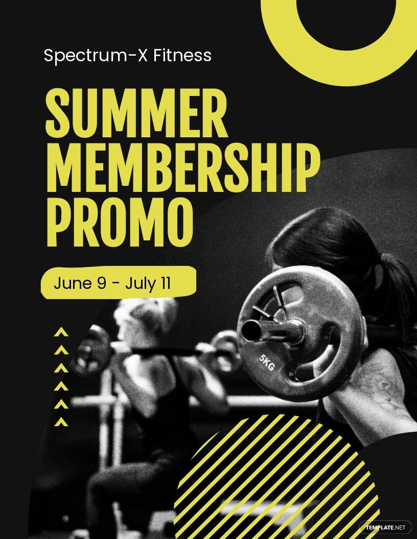 Gym Promotion Flyer Template.jpe