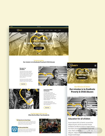 NGO WordPress Theme/Template