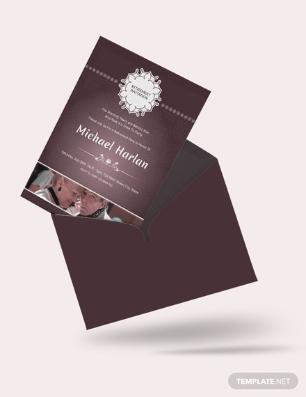Delighted Retirement Party Invitation Download