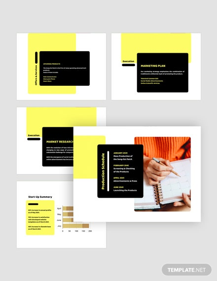 Business Pitch Deck Download