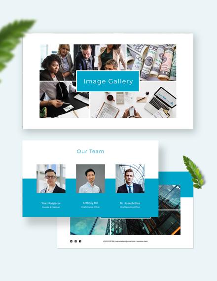 Banking Presentation Customize
