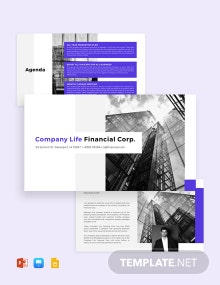 Company Business Strategy Presentation Template