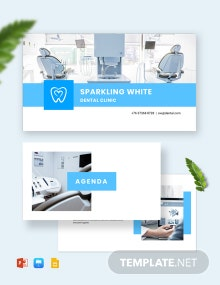 Dental Presentation Template