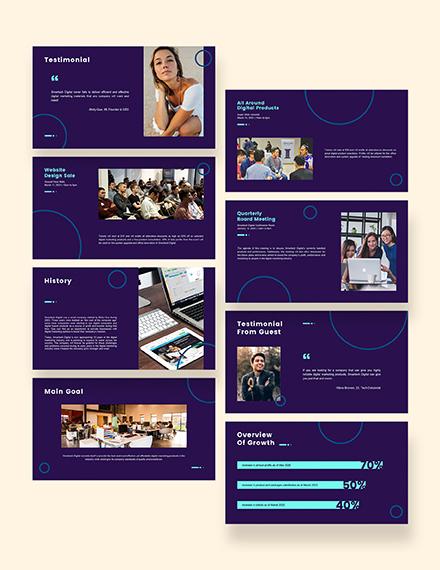 Digital Marketing and Services Presentation Download