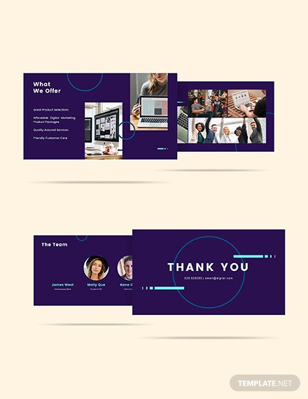 Sample Digital Marketing and Services Presentation