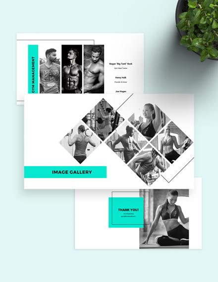 Fitness Gym Presentation Customize