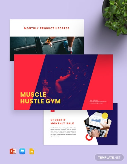 Gym Presentation Template
