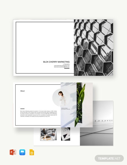Modern Power Point Presentation Template