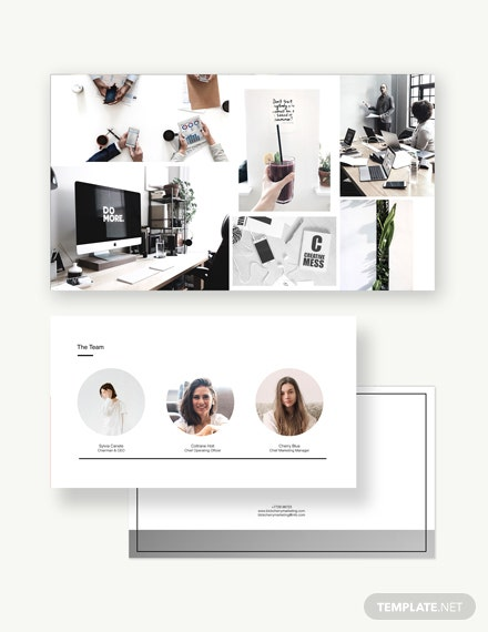Sample Modern Power Point Presentation Template