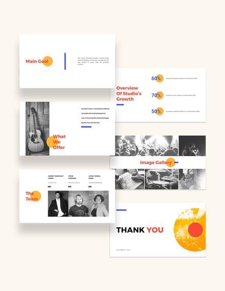 Sample Sponsorship Pitch Deck Presentation