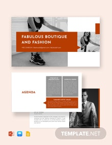 Story Telling Presentation Template